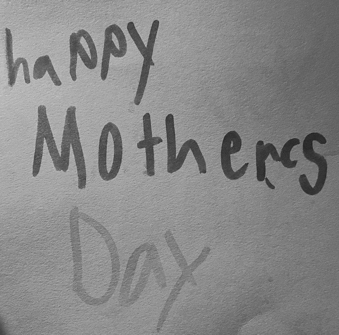 Mothers Day Card from Marley 2016