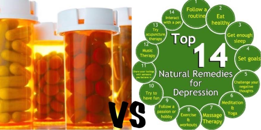 Medication vs Natural